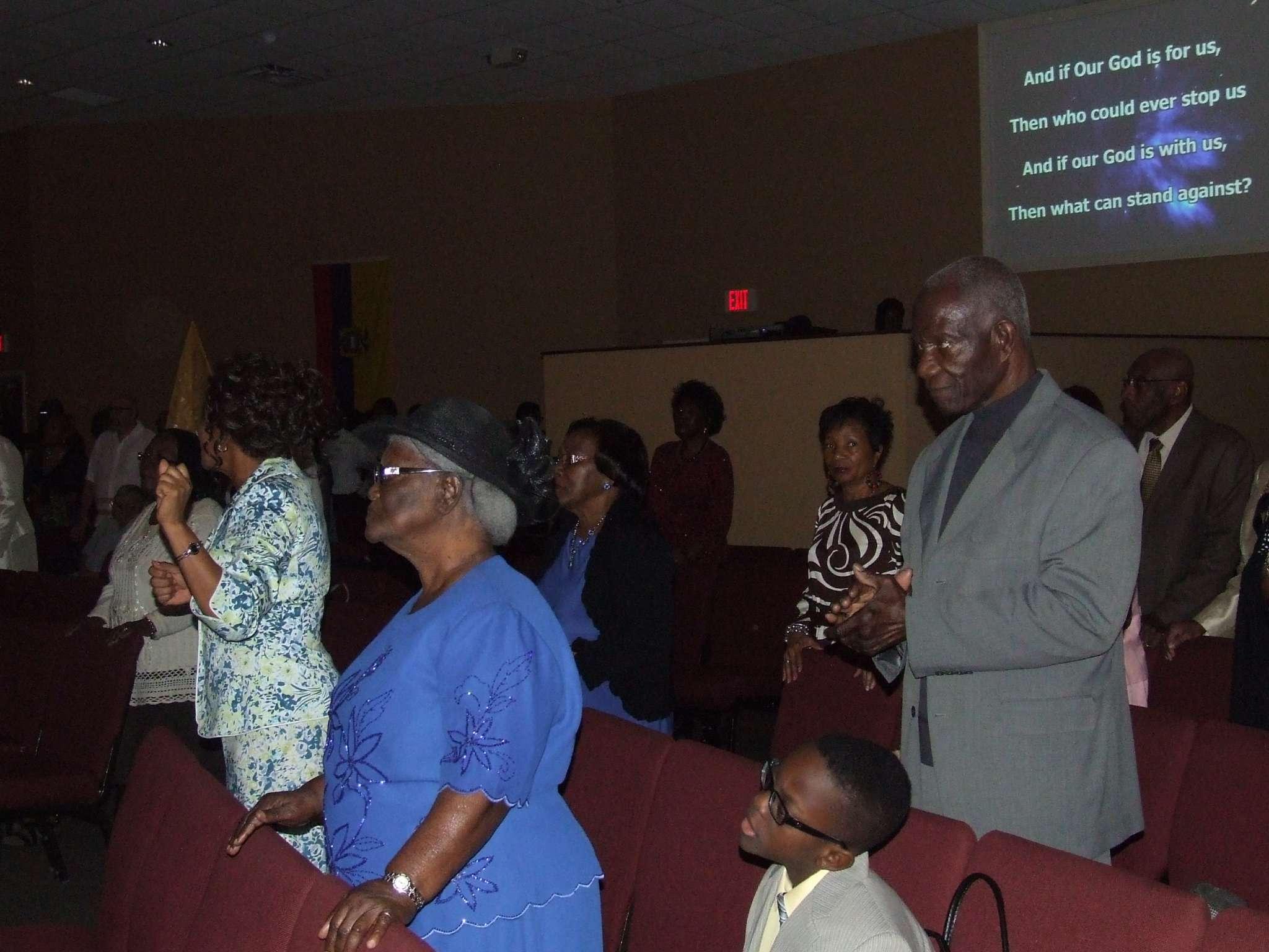 Congregation Standing