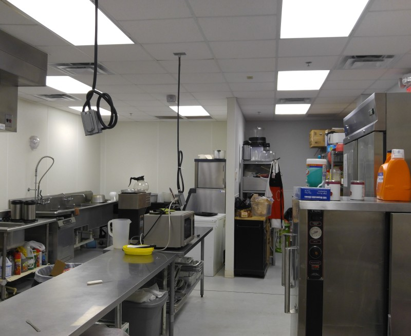 Inside our kitchen