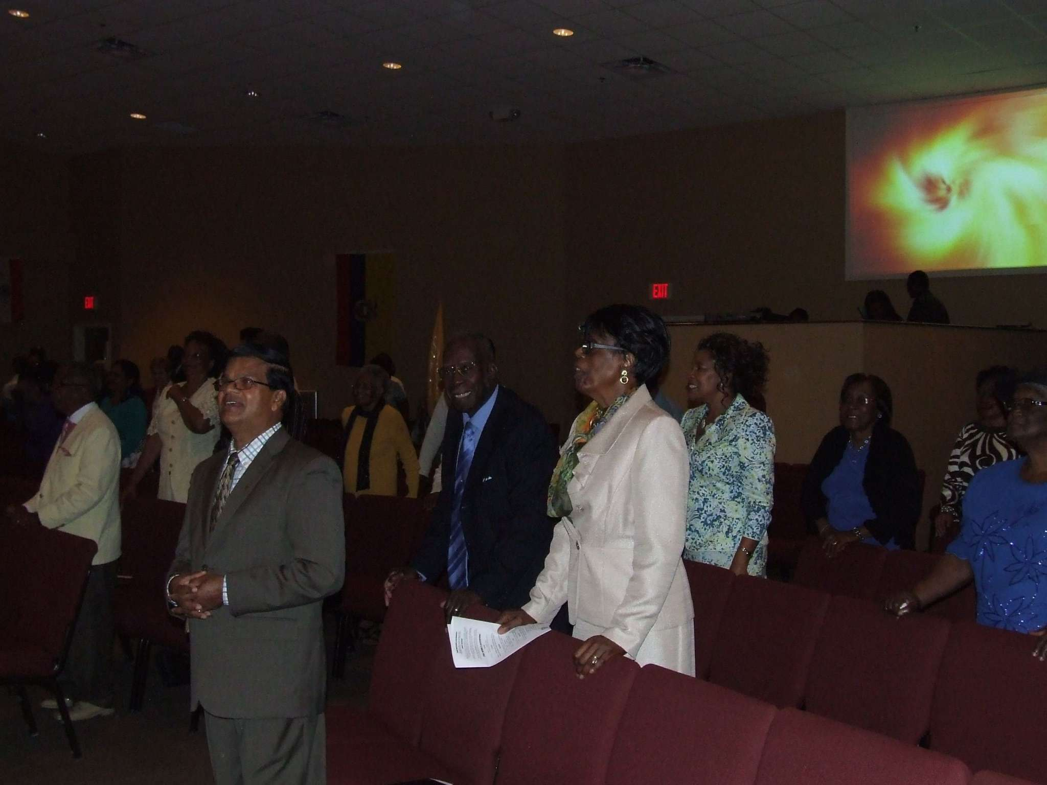 Congregation Standing