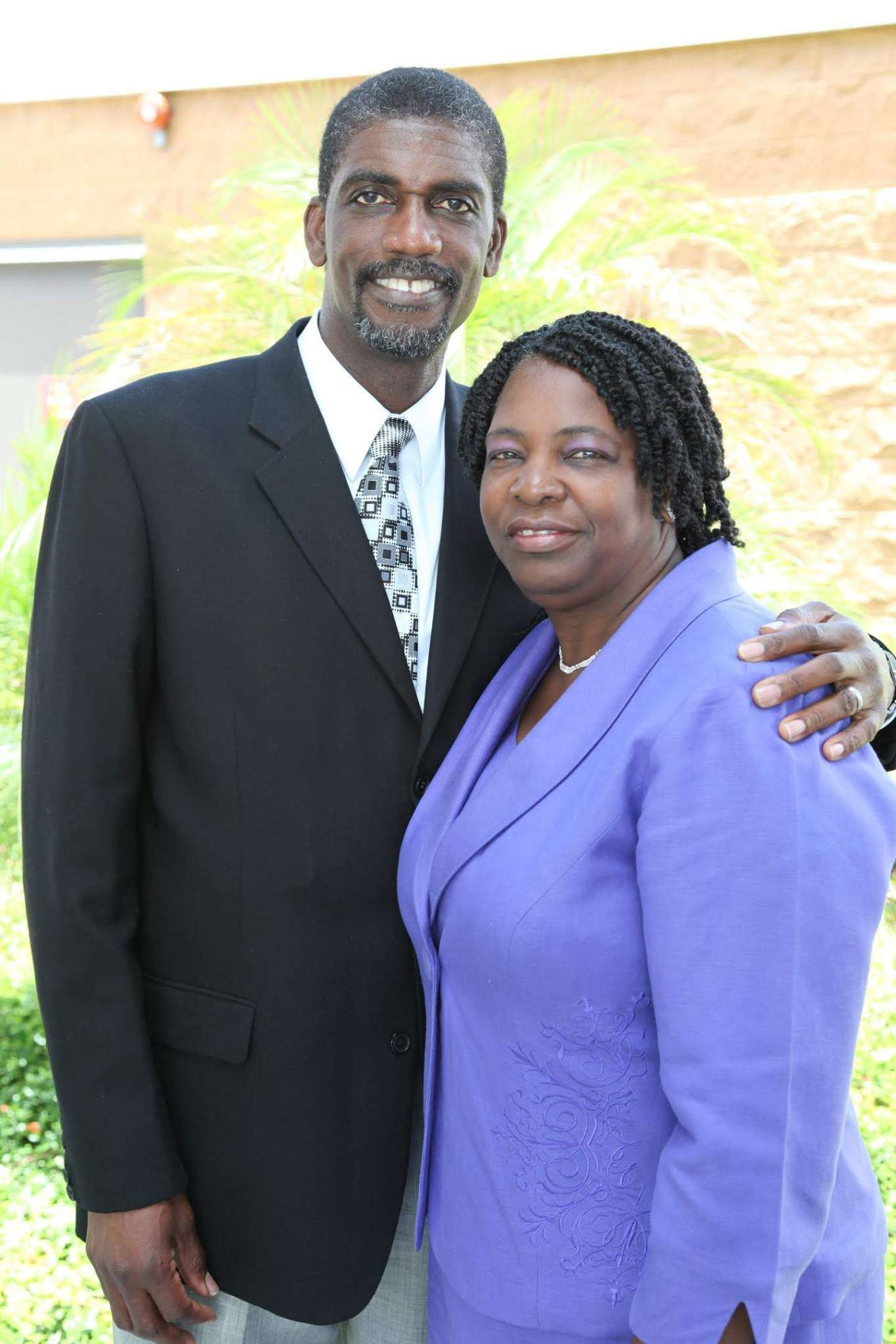 Pastor and Mrs Ronald Benjamin