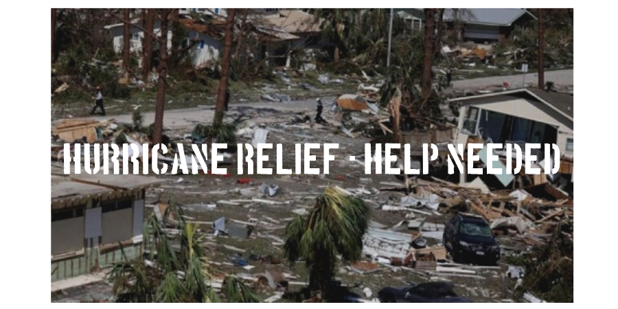 Hurricane Relief - Help Needed