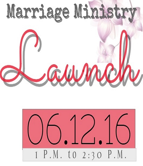 Marriage Ministry Flyer