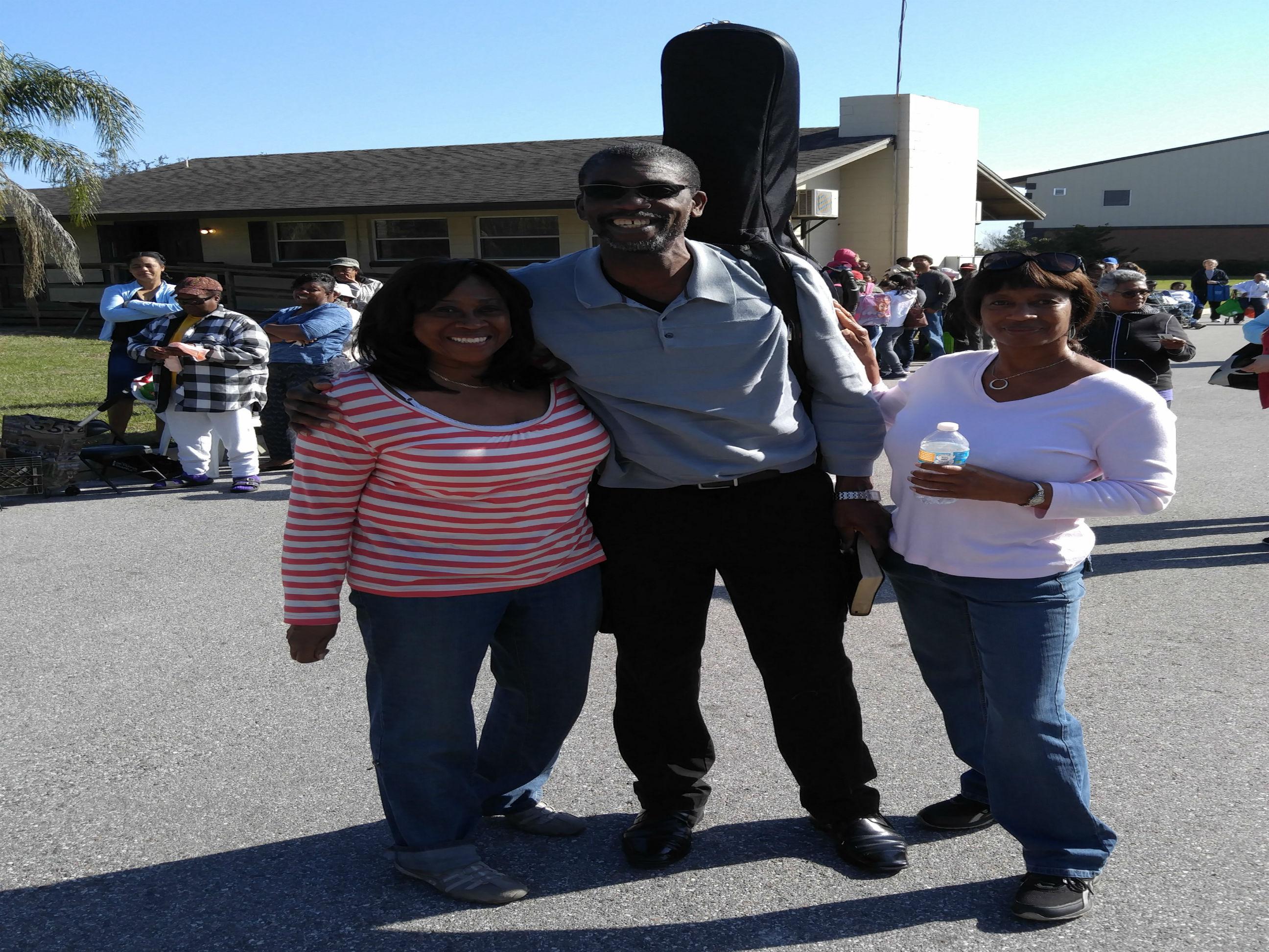 Pastor, Jennifer & Sylvia
