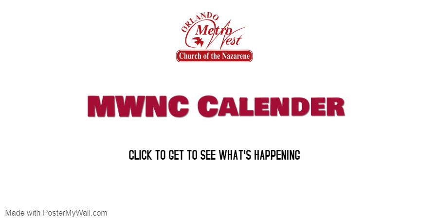 MWNC Calender